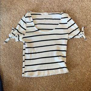 dry goods (lush) cropped short sleeve